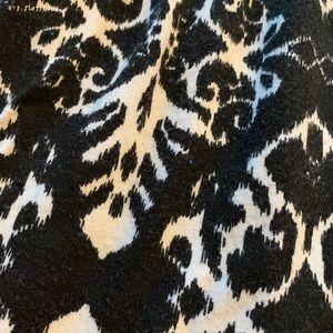 Joe Benbasset Skirts - Joe B Patterned Black White Maxi Skirt